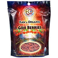 Earth Circle Organics, Сырые органические ягоды годжи, 8 oz (227 г), EOR-01368