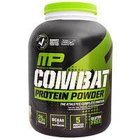 MusclePharm, Порошок Combat, повышенный период  усвоения белка, вкус печенья с кремом, 4 фунта (1814 гр), MSF-99081