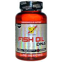 BSN, Рыбий жир, ДНК, для укрепления сердечно-сосудистой системы, 100 гелевых капсул, BSN-00299