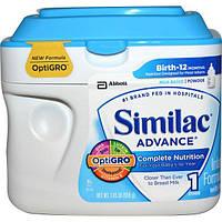 Similac, Advance, детская смесь с содержанием железа, 1,45 фунтов (658 г), SML-53360