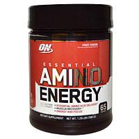 Optimum Nutrition, Энергия незаменимых аминокислот с фруктовым вкусом, 585г, OPN-02337