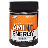 Optimum Nutrition, Энергия незаменимых аминокислот с цитрусовым вкусом, 585 г, OPN-02290