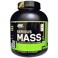 Optimum Nutrition, Serious Mass,High Protein Gain Powder, Chocolate, 6 lbs (2.72 kg), OPN-02299