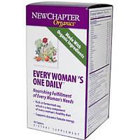 New Chapter, Органическая продукция, Мультивитамины для ежедневного применения для женщин, 90 таблеток (Discontinued Item), NCR-00642