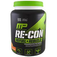 MusclePharm, Пополнение запаса энергии + восстановление Re-Con, апельсиновый крем, 35,98 унц. (1,02 кг), MSF-41221