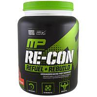MusclePharm, Пополнение запаса энергии и восстановление Re-Con, фруктовый пунш, 35,98 унц. (1,02 кг), MSF-41201