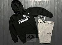 Теплый спортивный мужской костюм PUMA