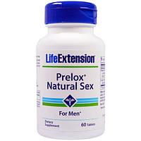 Life Extension, Prelox, естественный секс для мужчин, 60 таблеток, LEX-13736