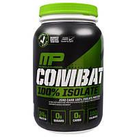 MusclePharm, Combat 100% изолят, со вкусом ванили, 32 унций (907 г), MSF-85822