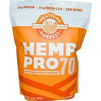 Manitoba Harvest, Конопля Pro70, протеиновая добавка на растительной основе, 908 г (2 фунта), MAH-69103