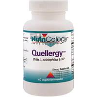 Nutricology, Quellergy с ацидофильными лактобактериями L-92, 60 капсул в растительной оболочке, ARG-56910