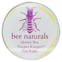 Bee Naturals, Пчелиная матка, бальзам вокруг глаз, 0.6 унции, BNA-11141