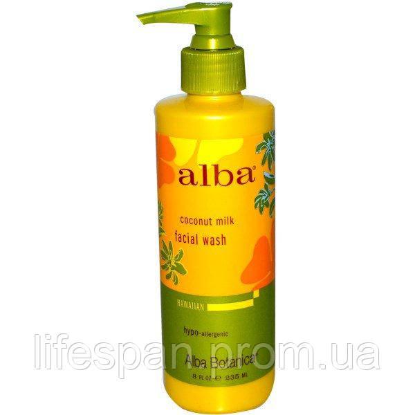 Alba Botanica, Средство для умывания с кокосовым молоком, 8 жидких унций (235 мл), ALB-00804 - lifespan в Киеве