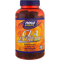 Now Foods, Для спорта, CLA Экстрим, 180 мягких капсул, NOW-01733