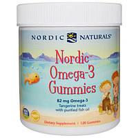 Nordic Naturals, Нордические жевательные конфеты с омега-3 со вкусом мандарина, 120 конфет, NOR-30131