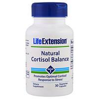 Life Extension, Поддержание естественного баланса кортизола, 30 капсул в растительной оболочке, LEX-20123