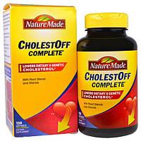 """Nature Made, """"Антихолестин абсолютный"""", препарат для снижения уровня холестерина, 120 мягких желатиновых капсул с жидкостью, NDM-02791"""