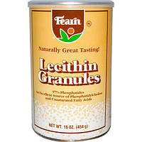 Fearn Natural Food, Гранулы лецитина, 16 унций (454 г), FSF-40030