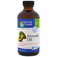 Earth's Care, Масло авокадо, 236 мл ( 8 жидк. унц.), ERC-00301