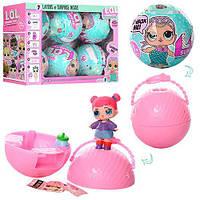 Кукла сюрприз в шарике LOL BB11: размер шарика 9см (микс видов)