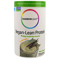 Rainbow Light, Vegan-Lean Protein, Creamy Vanilla, 13.8 oz (391 g), RLT-41051