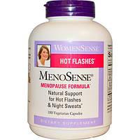 Natural Factors, WomenSense, MenoSense, формула для приема в период менопаузы, 180 растительных капсул, NFS-04951