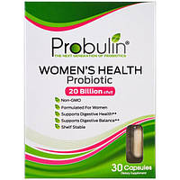 Probulin, Women's Health, пробиотик, 30 капсул, PBL-00350