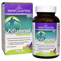 New Chapter, Зифламенд простата, 60 вегетарианских капсул, NCR-90092