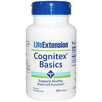 Life Extension, Витамины для мозга Когнитекс - Cognitex, 60 гелевых капсул, LEX-14216