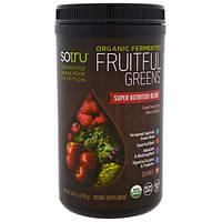 SoTru, ферментированный продукт органического происхождения, обогащен зеленью, 240 г (8,46 унции), STU-00238