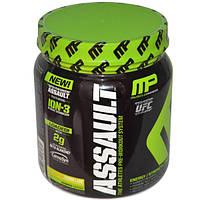 MusclePharm, Assault, система перед тренировкой, лимон и лайм, 0,96 фунта (435 г) (Discontinued Item), MSF-25828