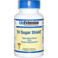 Life Extension, Tri Sugar Shield, 60 растительных капсул, LEX-18036
