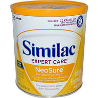 Similac, Молочная смесь с железом Expert Care NeoSure, 371 г, SML-57431