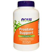 Now Foods, Prostate Support (поддержка предстательной железы), 180 желатиновых капсул, NOW-03341