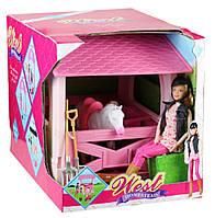 Кукла с лошадью West Homestead 8989: манеж для лошади + аксессуары