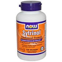 Now Foods, Ситринол, Средство для снижения уровня холестерина, 120 вегетарианских капсул, NOW-03508