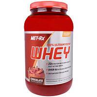 MET-Rx, 100% Ультрамиозин и Молочная сыворотка, со вкусом шоколада, 32 унций (907 г), MTX-54618