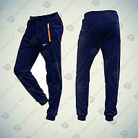 Спортивные брюки Nike утепленные на мальчика. Спортивные подростковые брюки купить в Украине. 152р