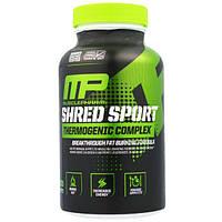 MusclePharm, Shred Sport, термогенный комплекс, 60 капсул, MSF-04951