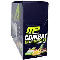MusclePharm, Combat Pro Gel, ассорти, 12 гелей, каждый - 1,62 унции (46 г), MSF-71942