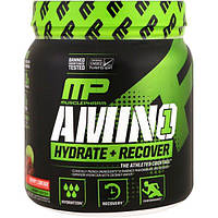 MusclePharm, Amino 1, Hydrate + Recover, Cherry Limeade, 15.24 oz (432 g), MSF-04641
