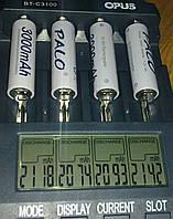 Ni-Mh аккумулятор АА PALO 3000 mAh мАч 1.2 В аккум 1,2 В белый никель металл гидрид перезаряжаемая батарея