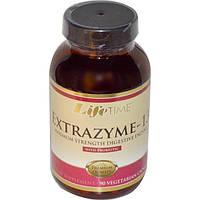 Life Time, Экстразим-13 с пробиотиками, 90 вегетарианских капсул, LIF-30093
