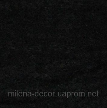 Фетр чёрный А-4 (20*30 см.) 1 мм.