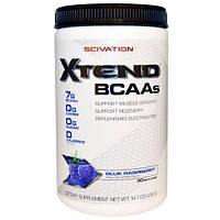 Scivation, XTend, аминокислоты с разветвлённой цепью, голубика, 416 г, SCI-00015