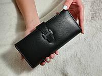 Жіночий гаманець/кошелек Hermes чорний