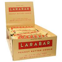 Larabar, Печенье с арахисовым маслом, 16 батончиков, по 1,7 унций (48 гр) каждый, HFD-45307
