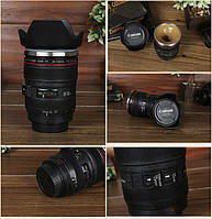 Чашка-Термос в виде объектива Cup camera lens Caniam Canon EF 24 105