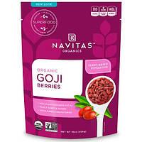 Navitas Organics, Органические ягоды годжи, 16 унц. (454 г), NAV-00071