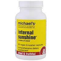 Michael's Naturopathic, Internal Sunshine, 60 капсул в растительной оболочке, MHN-01189